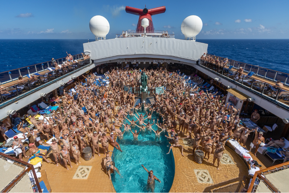 Naked in the News- Whats it like aboard the Big Nude Boat